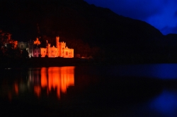 Kylemore Abbey lighting up Red for World Heart Day