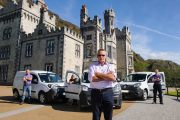 Renault at Kylemore Abbey
